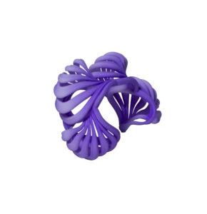 Ripples Rainbow Bracelet - purple princess