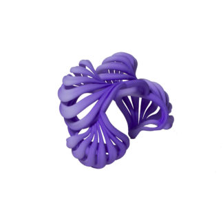 Ripples Rainbow Bracelet - purple princess