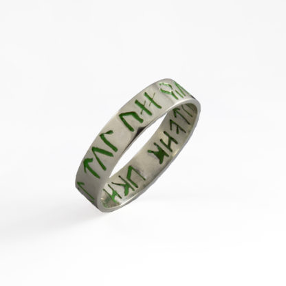 Color Inlay Ring