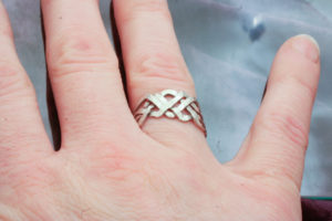 Barb's Puzzle Ring